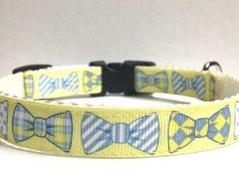 """5/8"""" Bow tie Dog collar"""