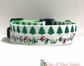 """3/8"""" Christmas Tree or Lights Collar"""