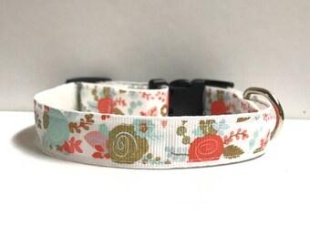 "5/8"" Floral collar"