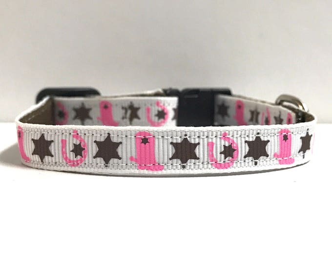 """3/8"""" stars and boots collar"""