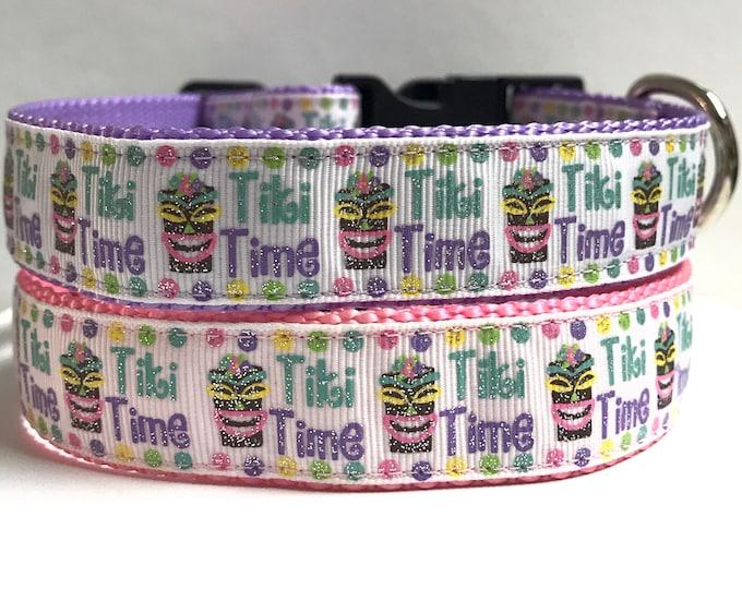 """1"""" Tiki time collar"""