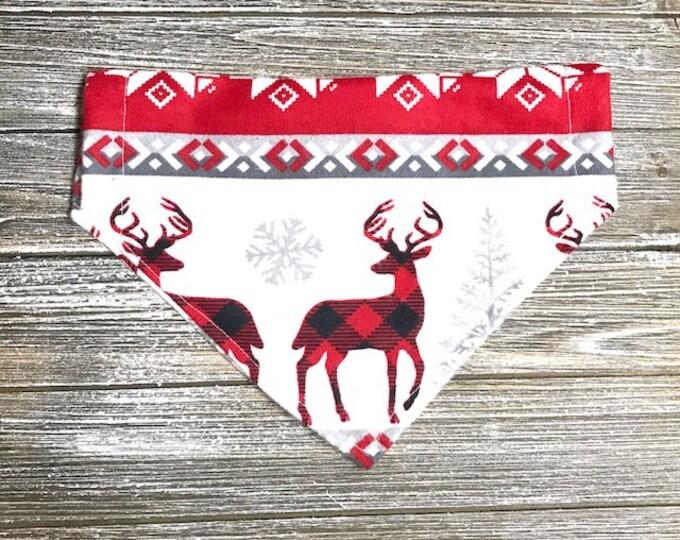 Deer & Plaid Bandana