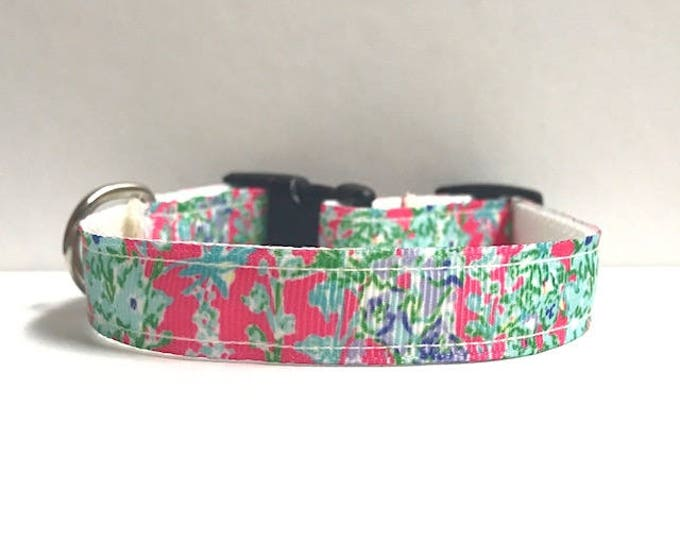 "5/8"" southern charm lilly inspired collar"