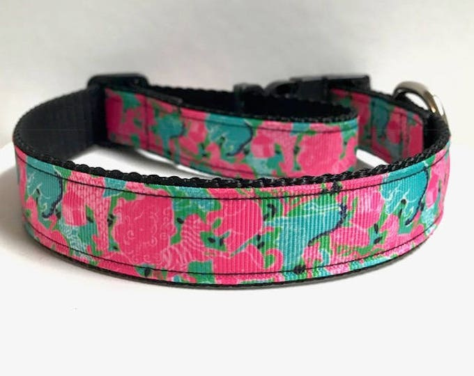 """1"""" Animals lilly inspired collar"""