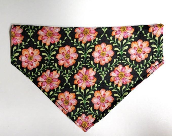 Flower & vine bandana