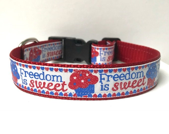 "1"" Freedom is Sweet Collar"
