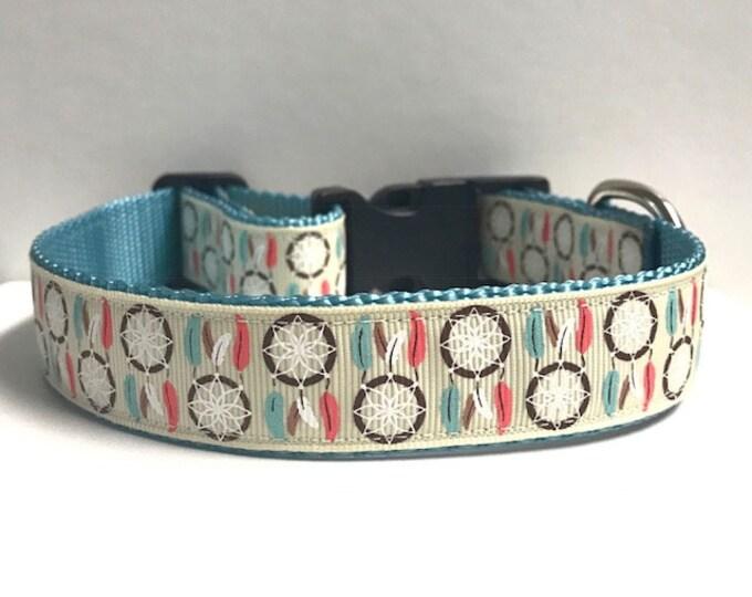 "1"" Dream Catcher Dog Collar"