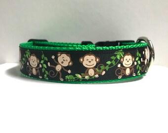 "1"" Silly Monkeys Collar"