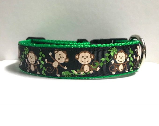 "1"" Silly Monkeys Collar"