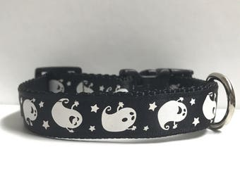 "5/8"" Ghosts and stars collar"