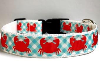 """1"""" preppy crabs collar"""