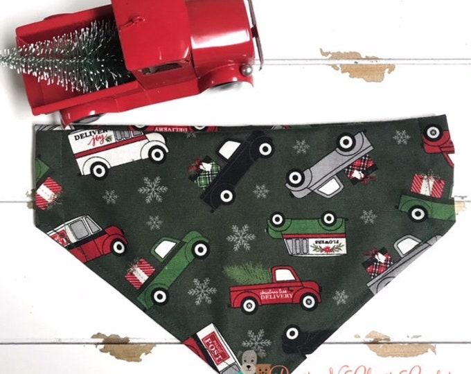 Featured listing image: Christmas Trucks Bandana