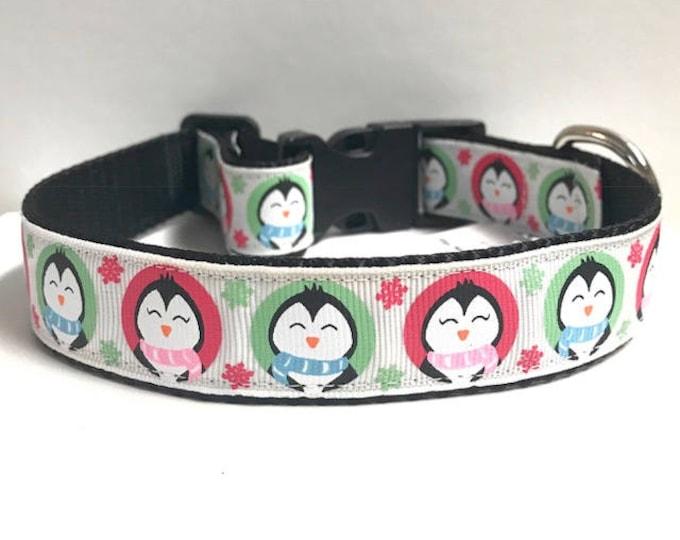 "1"" Winter penguin collar"