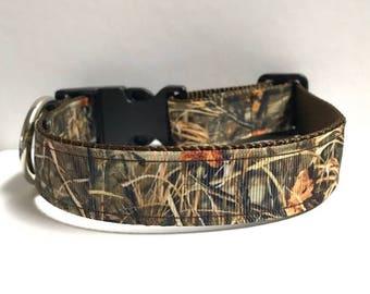 """1"""" Duck camo collar, Leash Available"""
