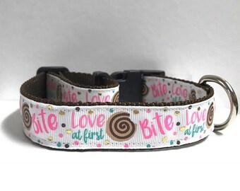"1"" Love at first Bite Collar"