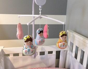 Baby mobile - Matrioska baby mobile