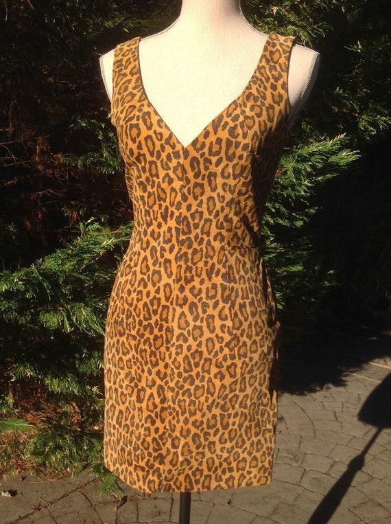 North Beach Leather Michael Hoban Mini Dress - image 3