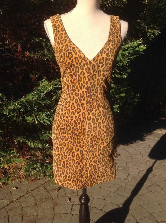 North Beach Leather Michael Hoban Mini Dress - image 7