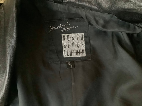 North Beach Leather Michael Hoban Dress & Bolero … - image 9