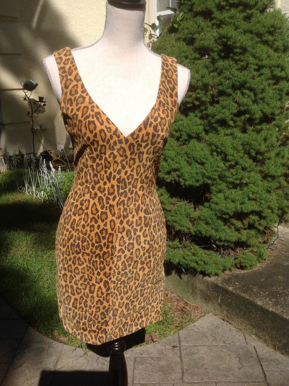 North Beach Leather Michael Hoban Mini Dress - image 9