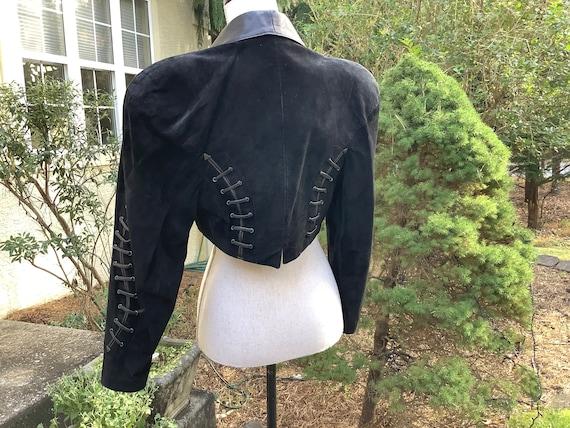 North Beach Leather Michael Hoban Dress & Bolero … - image 4