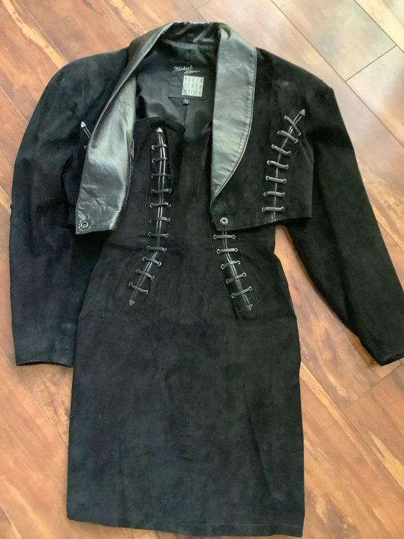 North Beach Leather Michael Hoban Dress & Bolero … - image 1