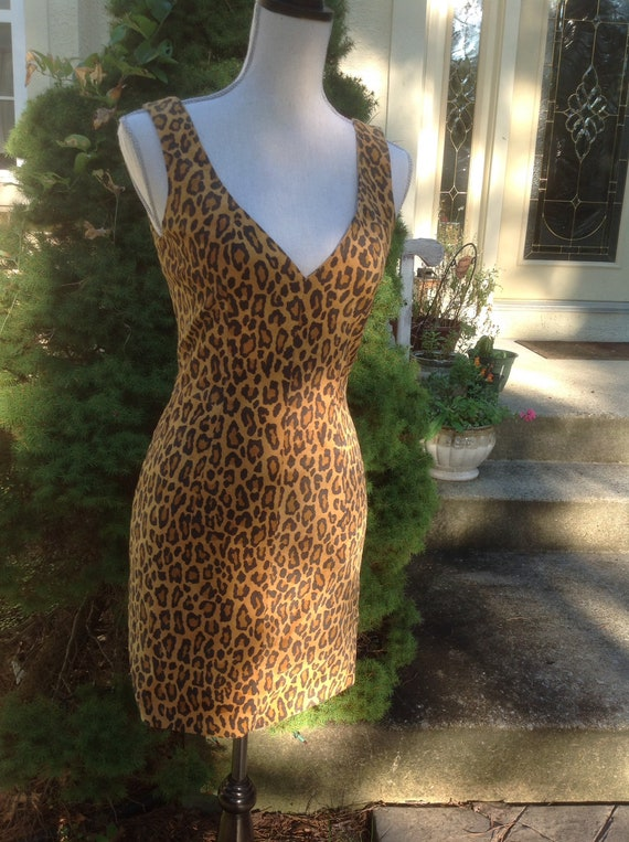 North Beach Leather Michael Hoban Mini Dress - image 8