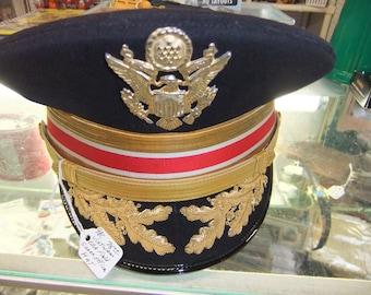 Vintage U.S. Army Viet Nam Era Field Grade Officer Hat - Corp Of Engineers