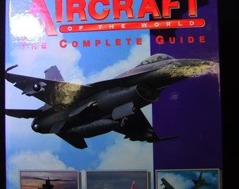 """Vintage AIRCRAFT of the WORLD """"The Complete Guide"""" 16 Groups in 3 binders - Aircraft Identification Book"""