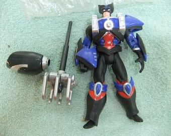 Vintage X Men Wolverine Mutant Armor Action Figure - 1996 Mutant Armor  Complete