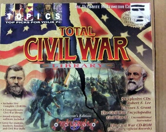 Civil War 5 CD Set -Library - Grant - Lee - Gettysburg Transcripts