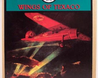 "Vintage Diecast Texaco Airplane Bank - ""Wings of Texaco"" 1929 Lockheed Air Express  MIP"