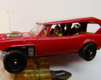 Vintage Diecast Corgi Jr Monkeemobile Diecast Vintage Car 1968 Corgi Jr