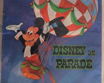 Vintage Disney on Parade Vintage Disney Program 1969 -  1971