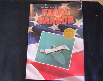 Military History Pearl Harbor Souvenir Booklet The Way It Was December 7th 1941