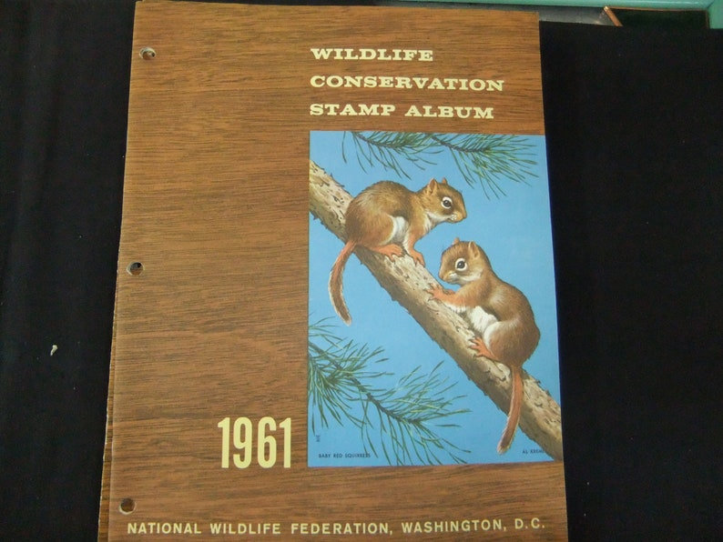 National Wildlife Federation Vintage 1961 Wildlife image 0