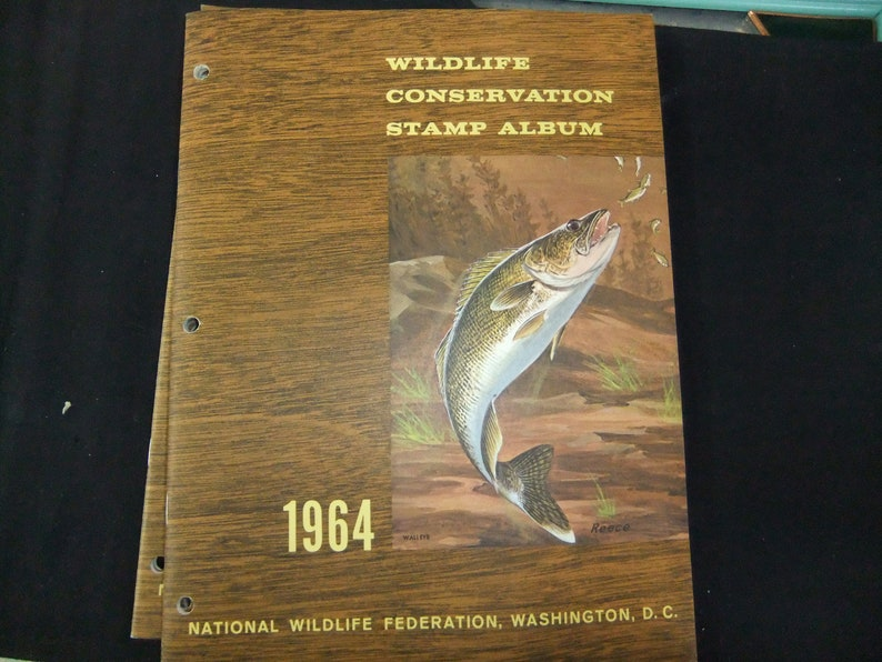 National Wildlife Federation Vintage 1964 Wildlife image 0