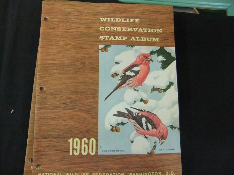 National Wildlife Federation Vintage 1960 Wildlife image 0