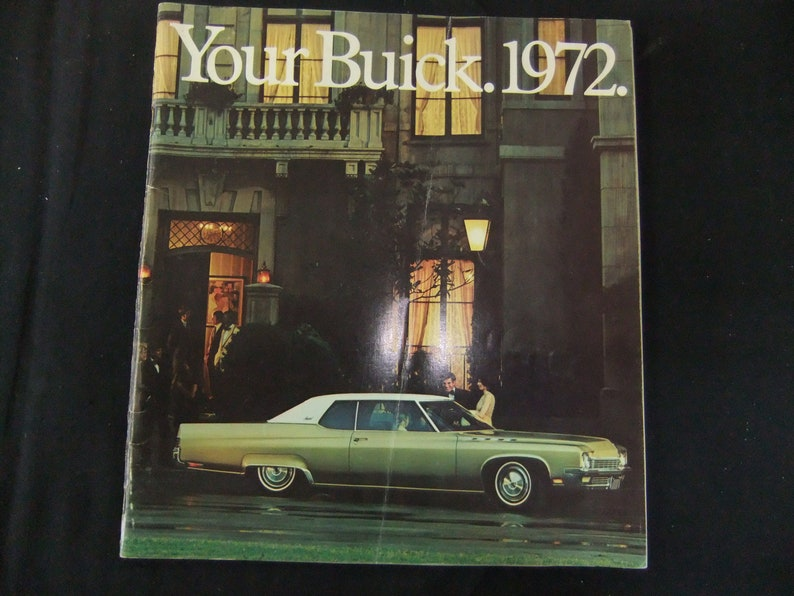 1972 Buick New Car Sales Brochure image 0