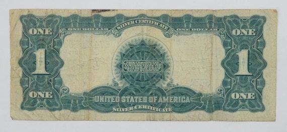 Silber-Zertifikat 1899 schwarzen Adler Silber Zertifikat einen