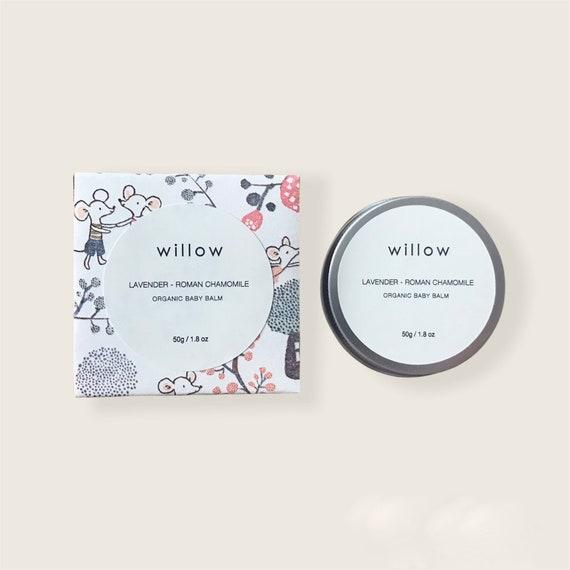 Organic Baby Balm with Marshmallow and Calendula, Nappy Balm, Baby Salve, Sensitive Skin
