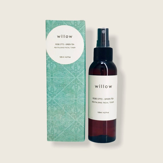 Revitalising Facial Toner with Witch Hazel, Rose Otto and Green Tea