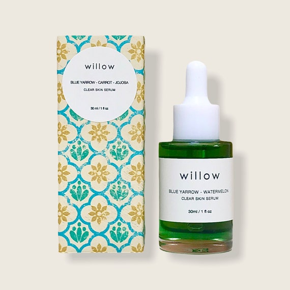 Organic Clear Skin Serum with Watermelon, Nettle and Yarrow, Oily/Problematic Skin