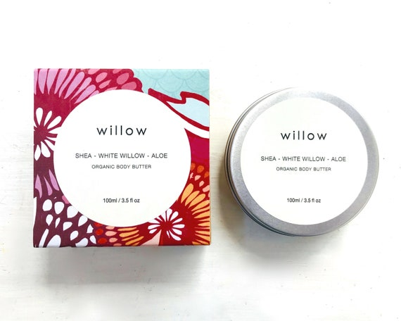 Organic Whipped Body Butter, natural intensive moisturiser with Australian Botanicals