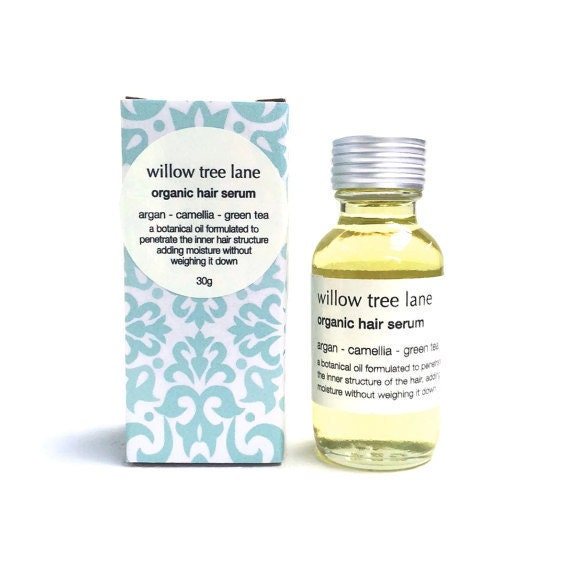 Organic Hair Serum with Argan, Camellia And White Tea