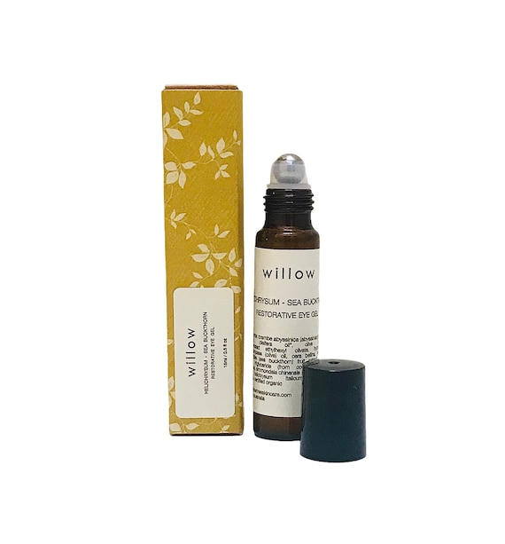 Restorative Eye Gel / Serum with Helichrysum, Squalane and Sea Buckthorn