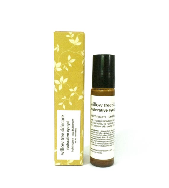 Restorative Eye Gel / Serum with Abyssinian, Helichrysum and Sea Buckthorn