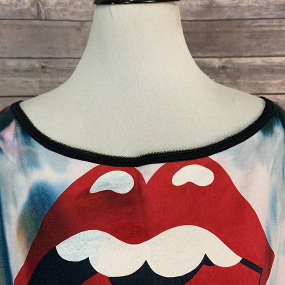Vintage 2002 Rolling Stones Tie Dye T-shirt - image 3