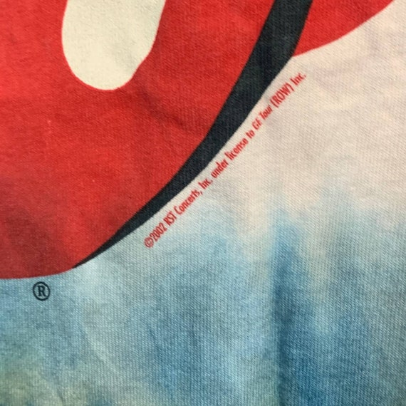 Vintage 2002 Rolling Stones Tie Dye T-shirt - image 4