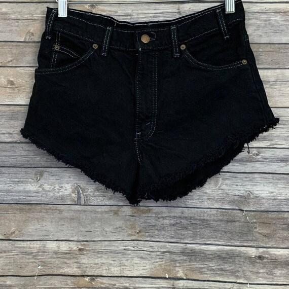 Vintage Levi's Orange Tab Black Shorts
